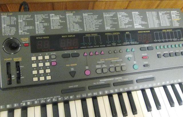 Teclado electrónico MIDI Yamaha pss-795