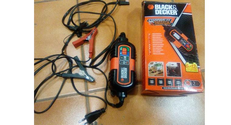 Cargador baterías 6-12V