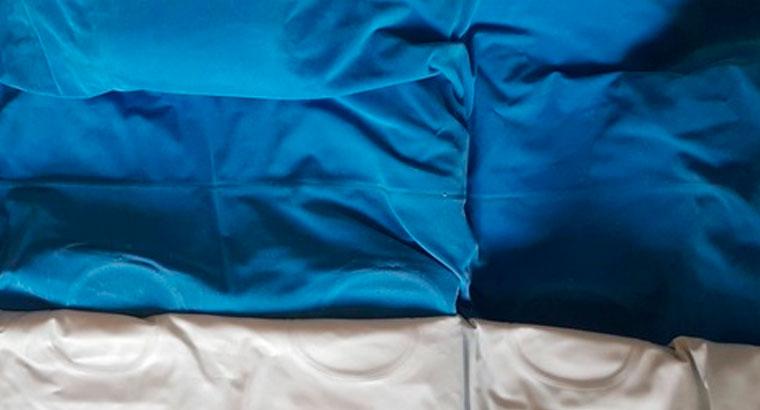 Colchón hinchable doble