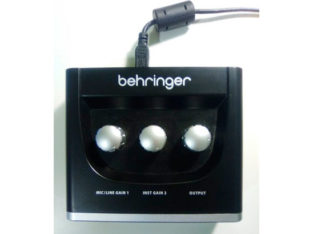 Interface audio USB – Bheringer UM2