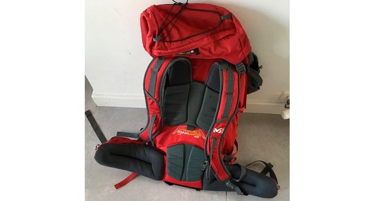 mochila de 60 litros