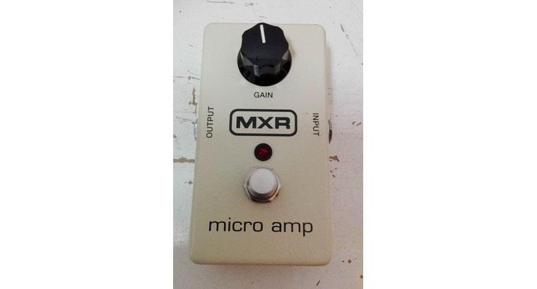 Pedal guitarra MXR Microamp